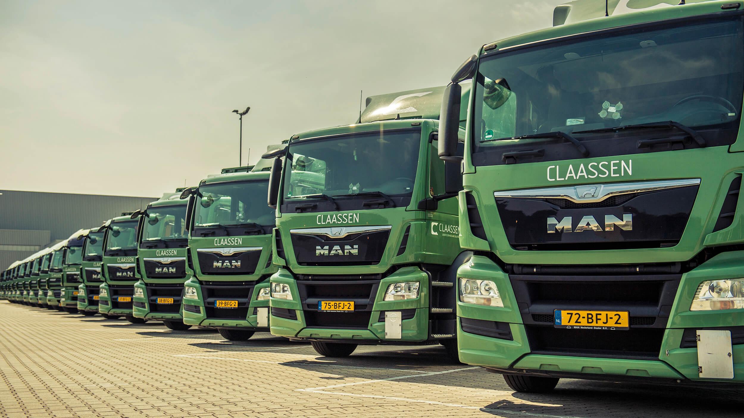 Distributie Benelux en distributie Europa Claassen transportbedrijf